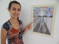Artista Brenda Klein apresenta série de dez desenhos feitos à mão