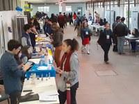Primeiro dia contou com a participação de 50 trabalhos de escolas de Pelotas e de outras cidades gaúchas. Evento segue até sexta (13)
